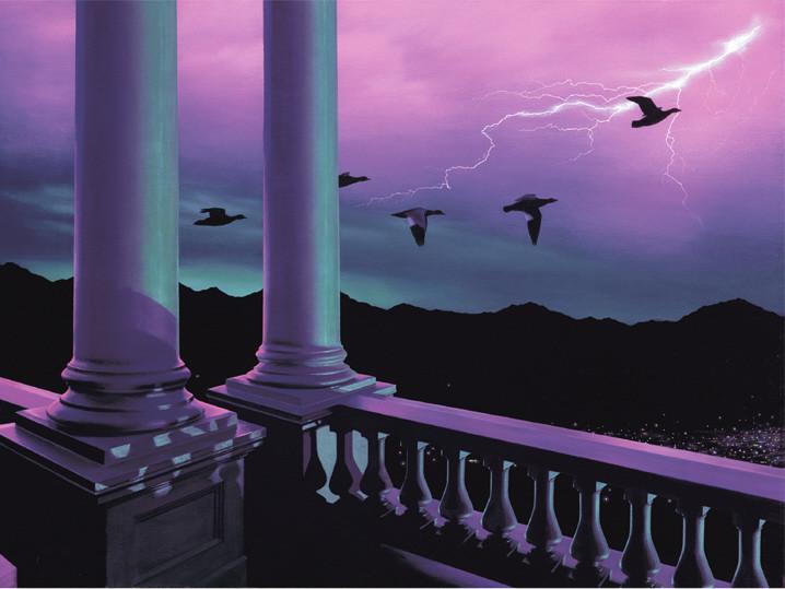 """""""Nights of Wonder"""" oil painting"""